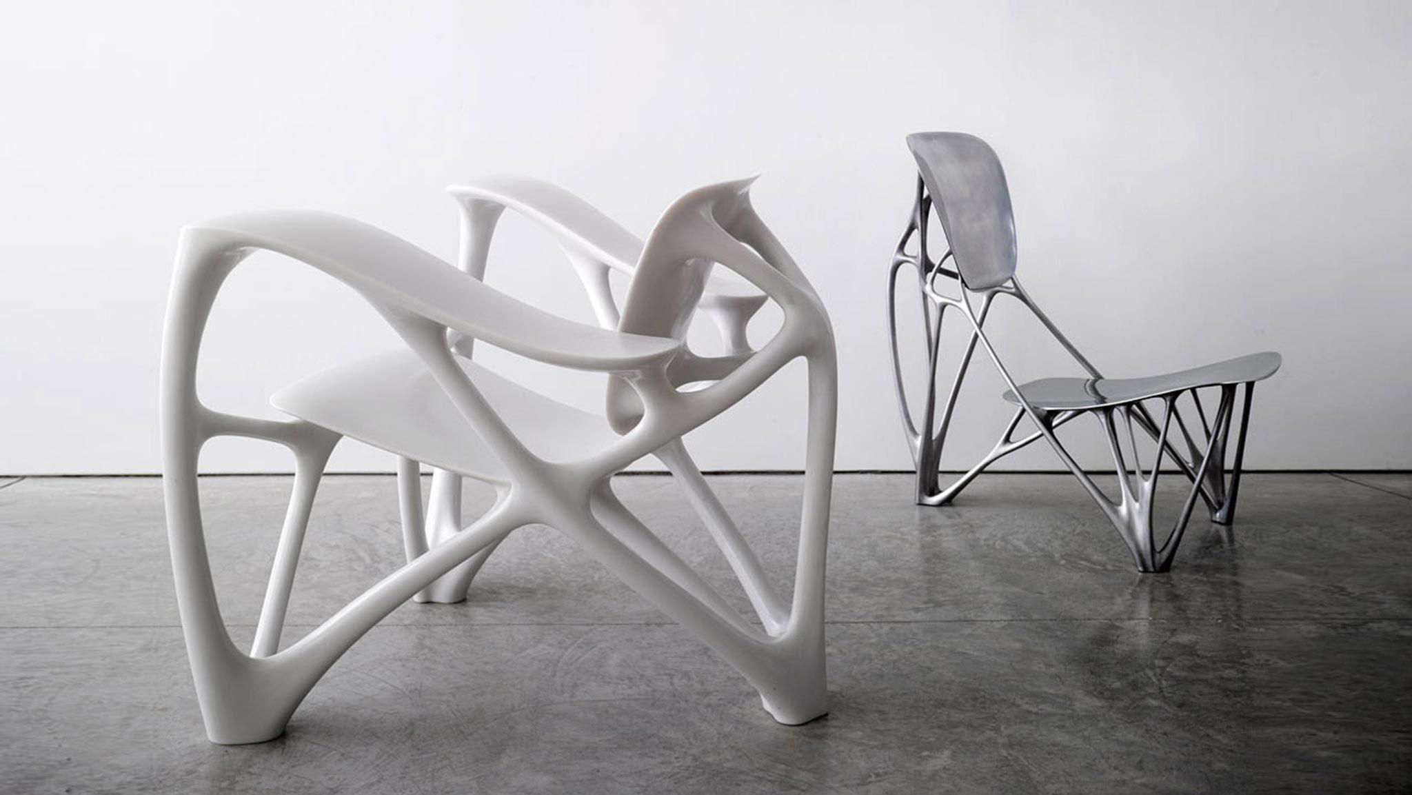 bone furniture  Joris Laarman Lab  Marie-Ange Brayer Stream 03  PCA-Stream