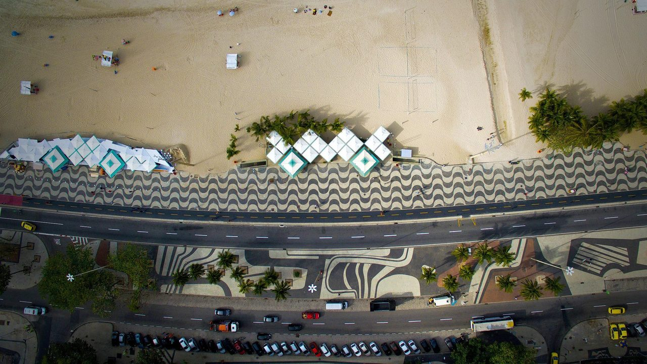 Copacabana vue de haut Roberto Cabot Stream 03  PCA-Stream
