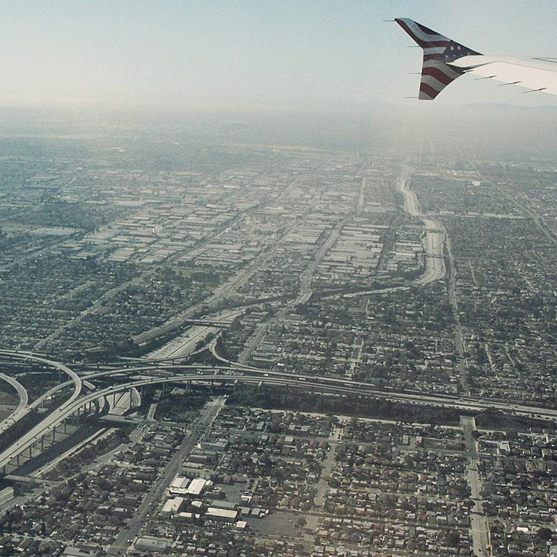 Vue aérienne de Los Angeles Lars Lerup Stream 01 PCA-STREAM