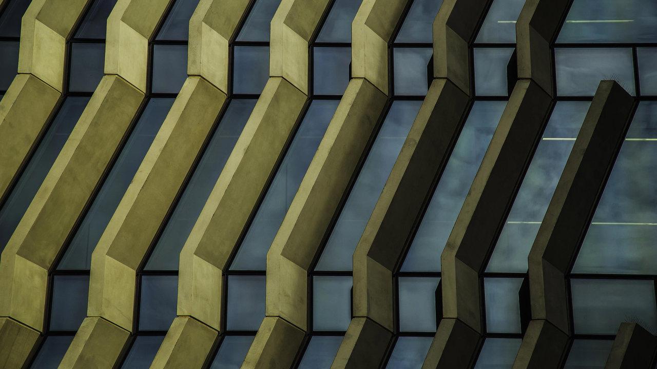 Détail de façade Sebastian Redecke Stream 01 PCA-STREAM