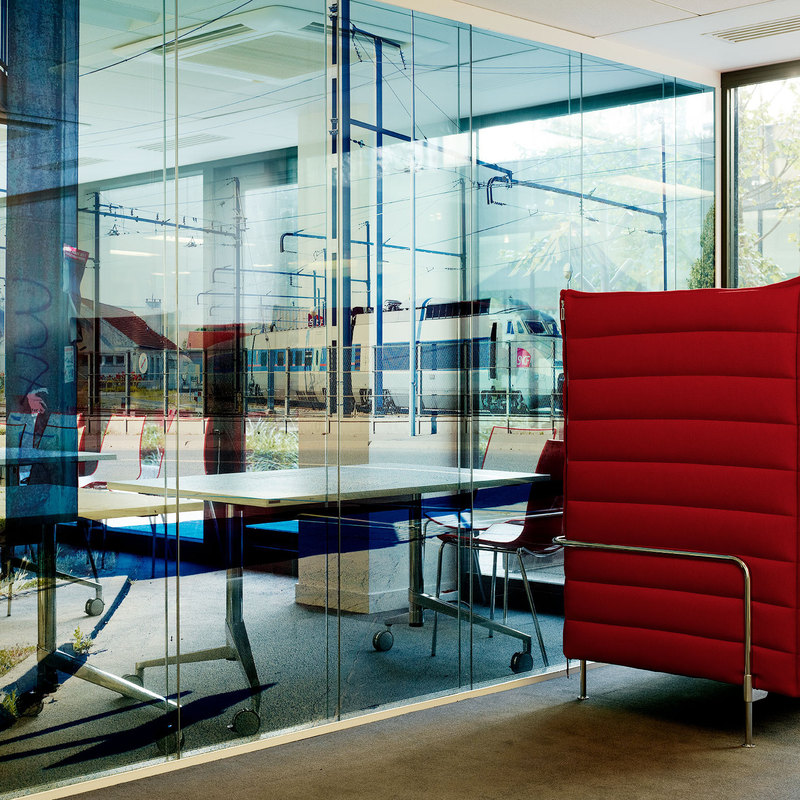 Institut Français PCA-STREAM bureaux vitre reflet