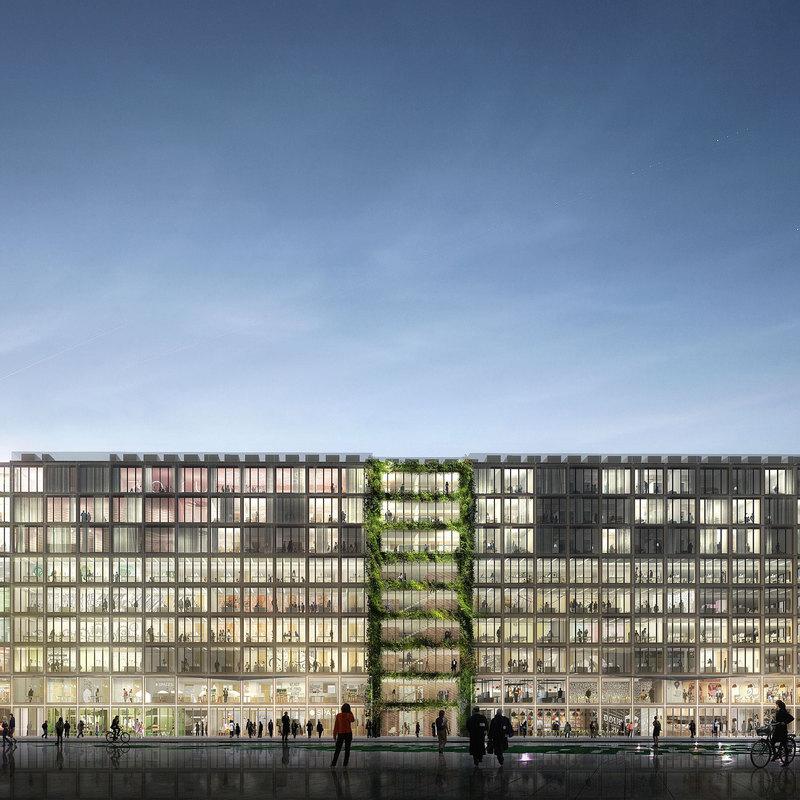 stream building reinventer paris innovation offices porte de clichy grand paris