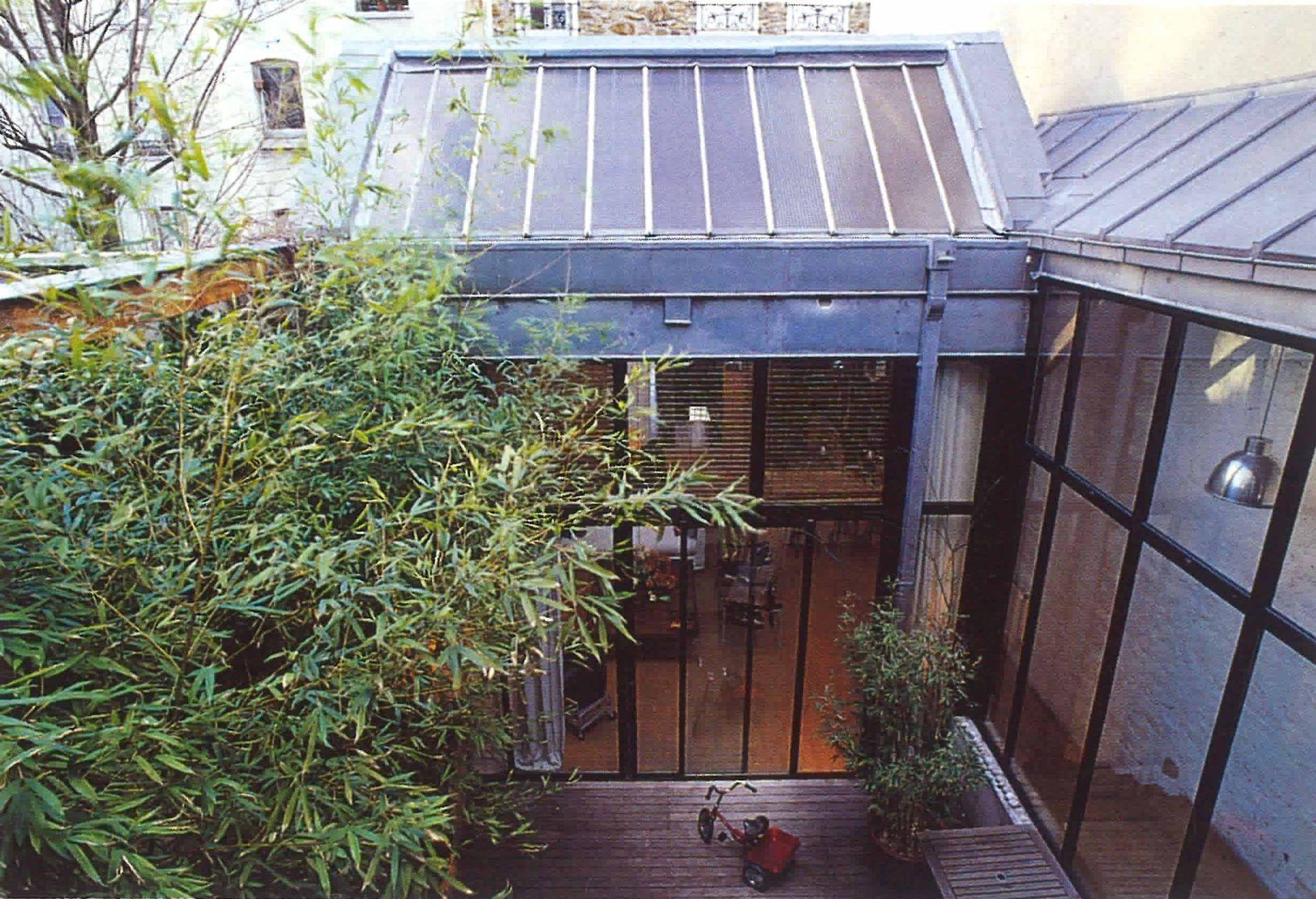 Transvaal PCA-STREAM volumes verrière patio vue extérieure
